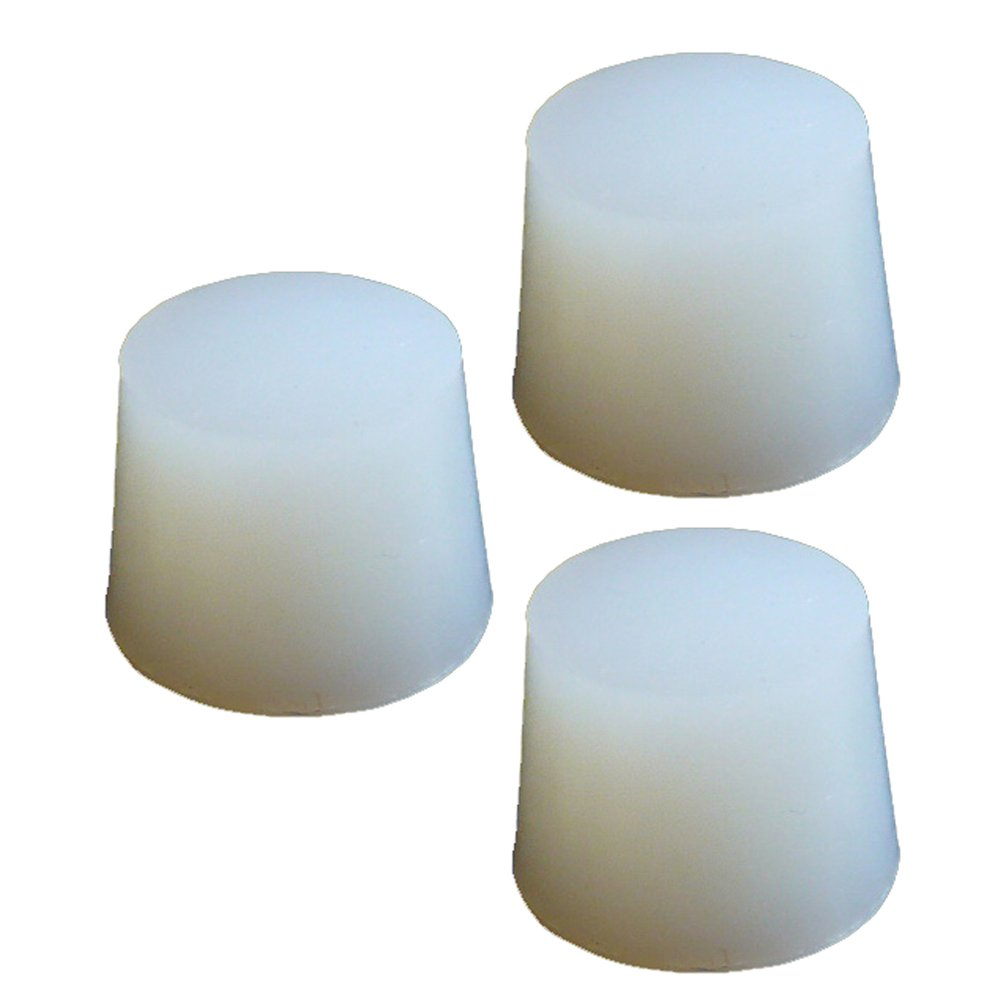 PUL FACTORY Solid Silicone Stopper, Size #10 - Pack of 3