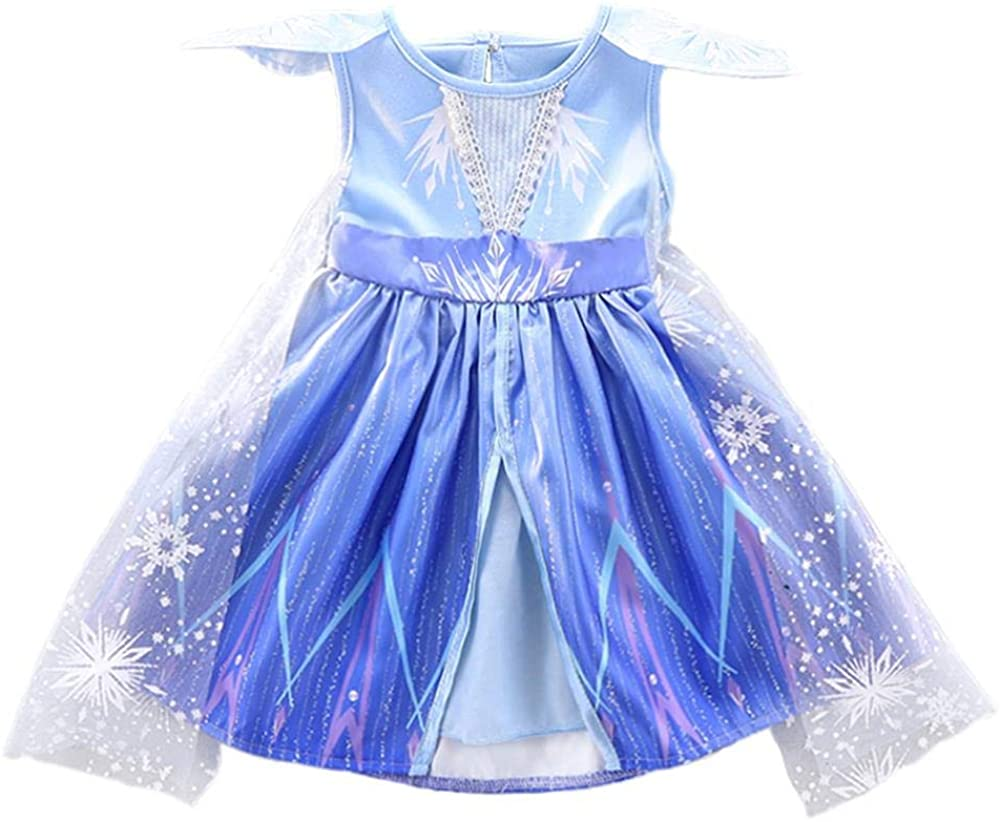 Dressy Daisy Baby Girl Toddler Snow Queen Dress up Costume Birthday Party Dress Outfit