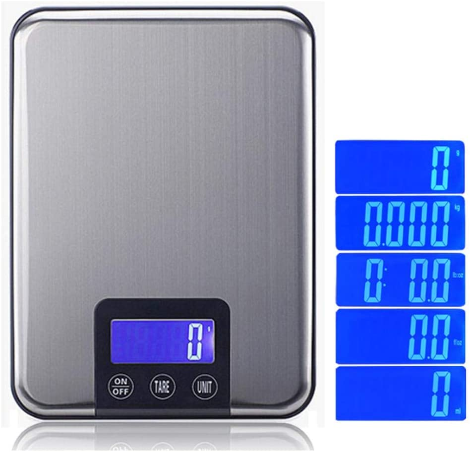 Glum Digital Weight Scale,Kitchen Scale Durable Lightweight Electronic Scale ,Fast Digital Scales Weighing Up 15kg