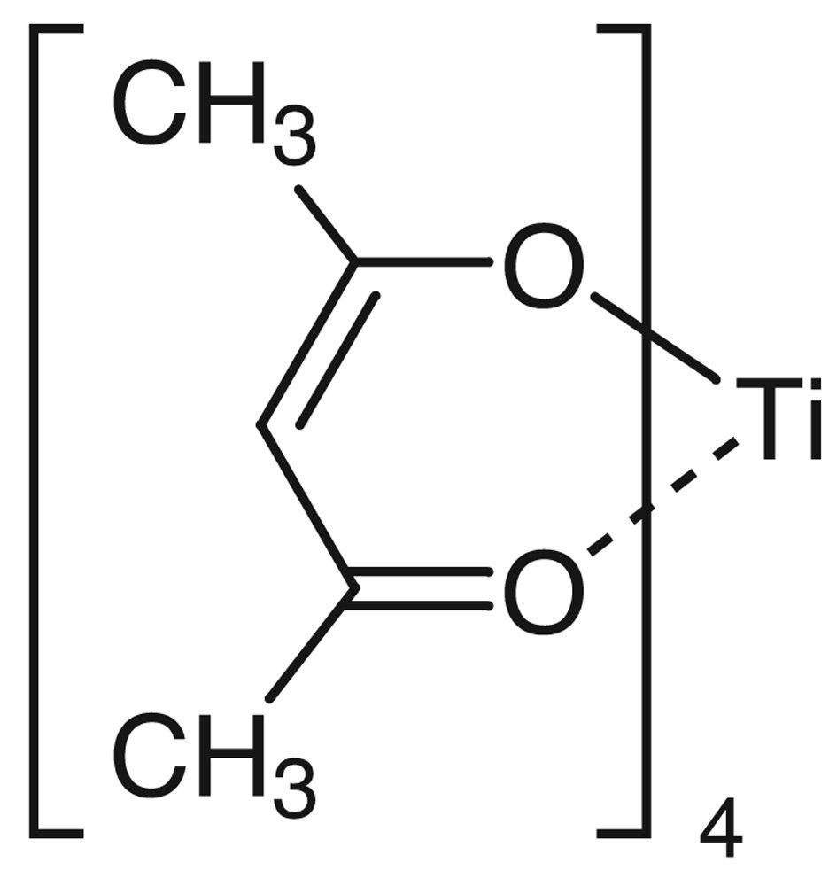 TCI America: Tetrakis(2,4-pentanedionato) Titanium(IV), T2610-25G