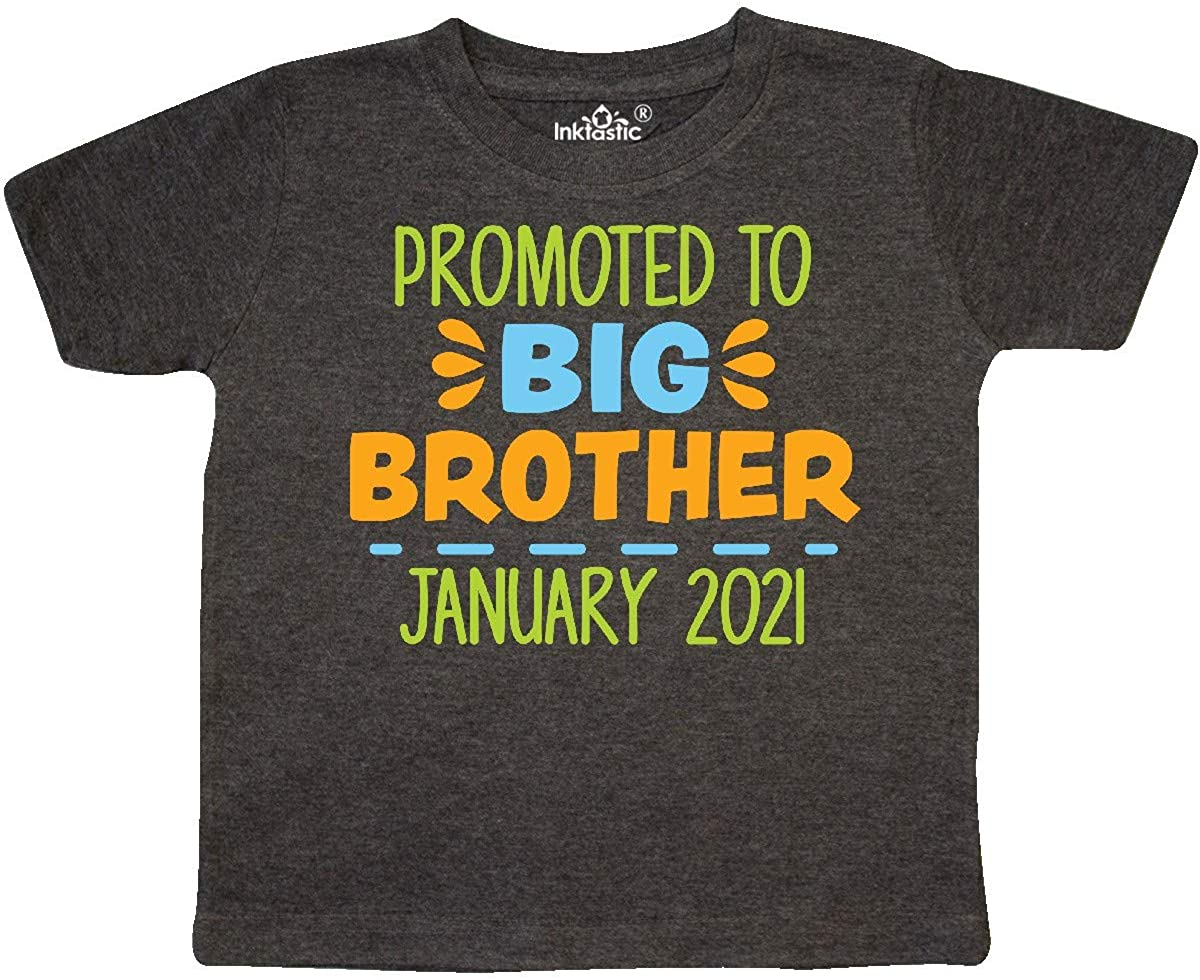 inktastic Promoted to Big Brother January 2021 Toddler T-Shirt