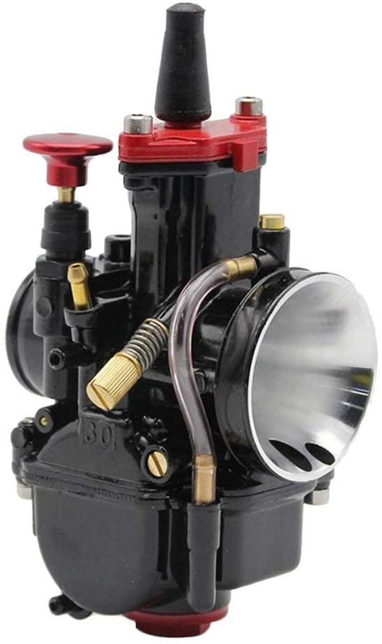 Redcolourful Carburetor PWK28 30 32 34MM Gasoline Generator Carburetor for ATV UTV YAM-AHA etc 32mm for Auto Accessory