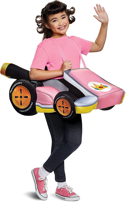 Super Mario Bros. Peach Kart Child Costume