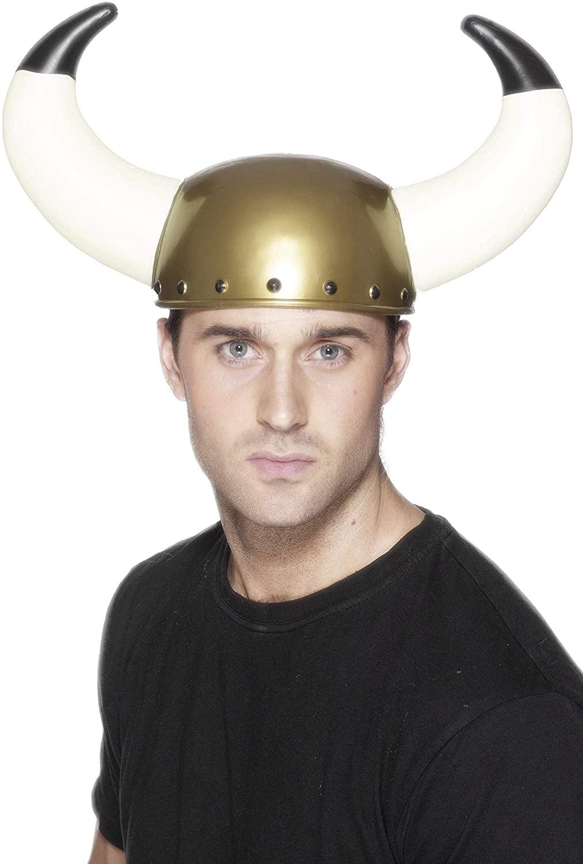 Smiffy's Men's Viking Helmet with Large Horns