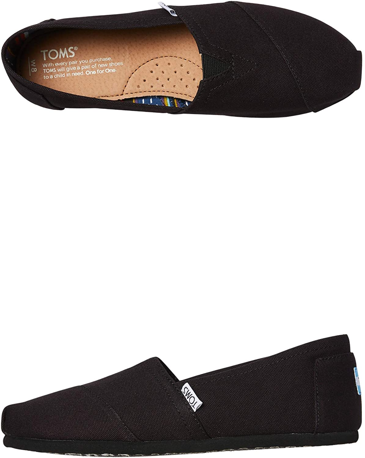 TOMS Women's Blue Chambray Classic 10007711