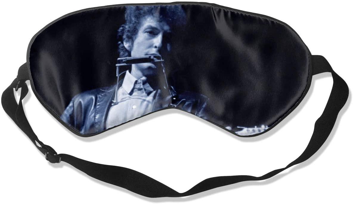 8rwwpJgr Bob Dylan Unisex Fashion Sleep Eye Mask Soft Comfortable with Eye Mask Adjustable Headband