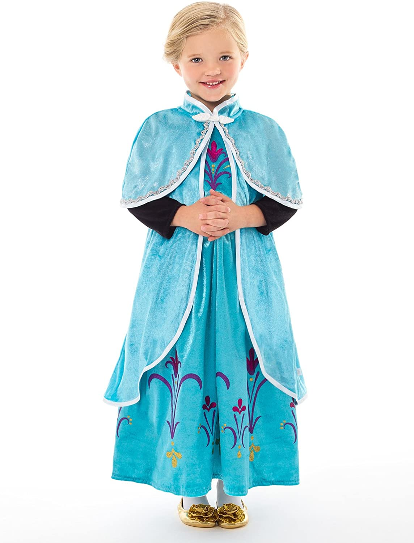 Little Adventures Ice Princess Dressup Costume Cloak - Size Lg/X-Large