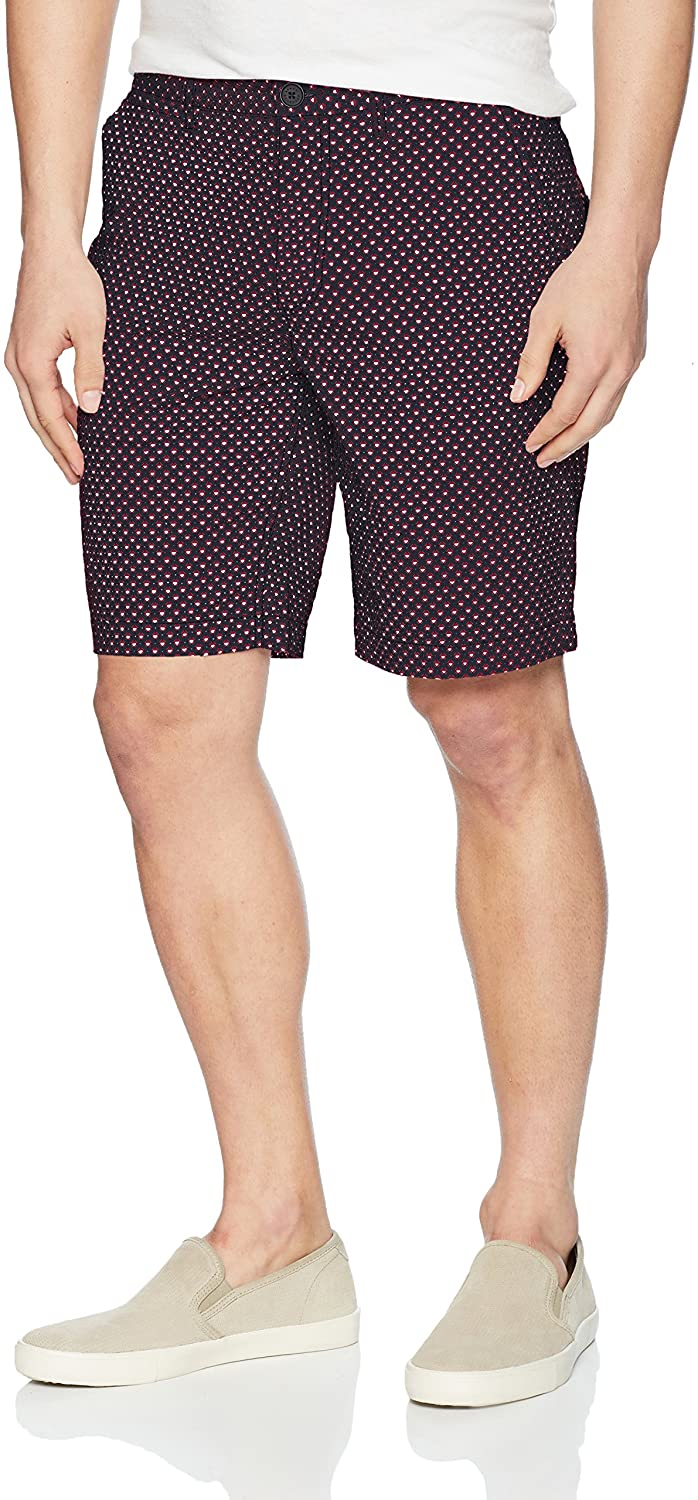 AX Armani Exchange Men's Polka Square Bermuda Shorts