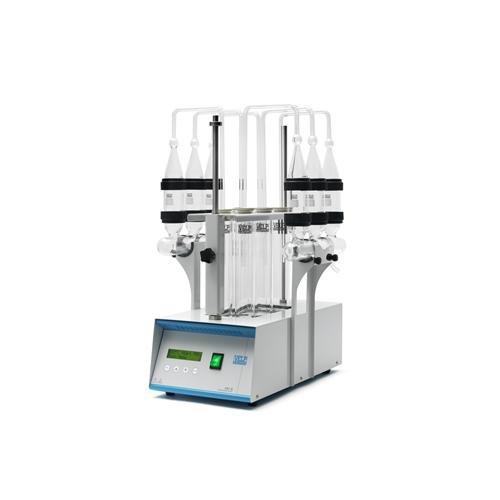 VELP Scientifica F30300110 Model HU 6 Stainless Steel Hydrolysis Unit, 1350W, 230V, 50-60 Hz