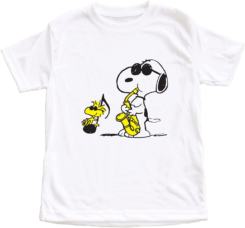 Peanuts Snoopy Music Unisex Children Unisex T-Shirt