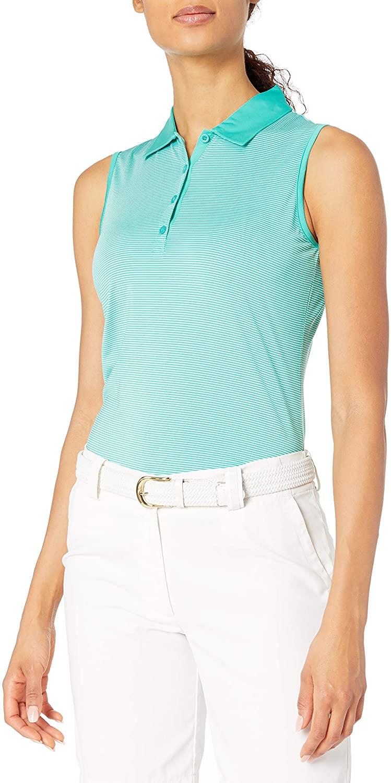 EP Pro Golf Women's Sleeveless Stripe Jersey Polo