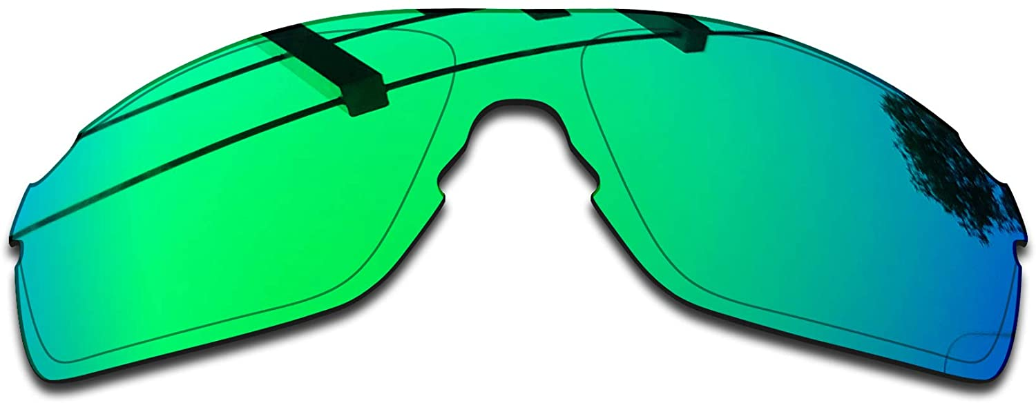 SEEABLE Premium Polarized Mirror Replacement Lenses for Oakley EVZero Pitch OO9383 Sunglasses - Jade Mirror
