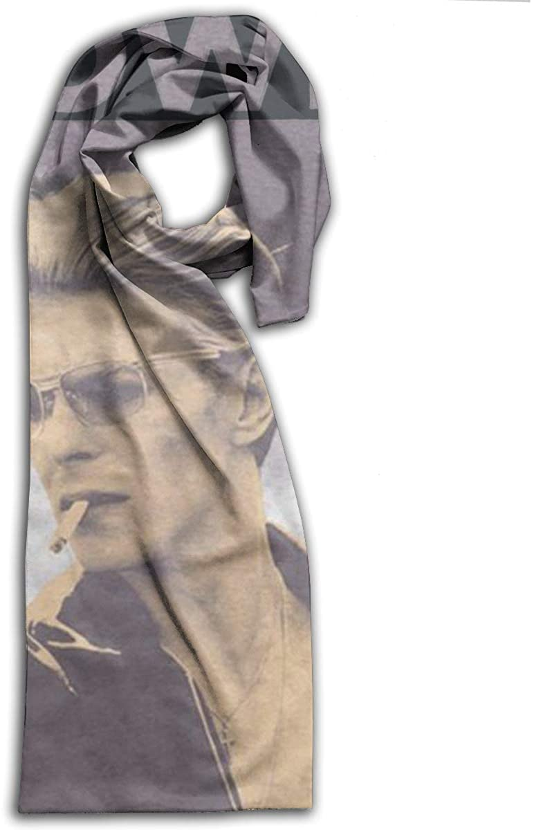 David Bowie Adult Comfort Soft Printed Scarf