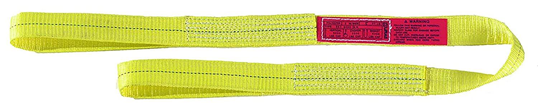 Liftall EE1801DFX4 Polyester Web Eye and Eye Sling, Flat Eye, 1-ply, 1