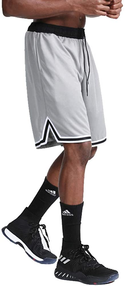 Banana Bucket Mens Casual Athletic Shorts, Elastic Waist Relaxed Fit Sport Shorts with Drawstring