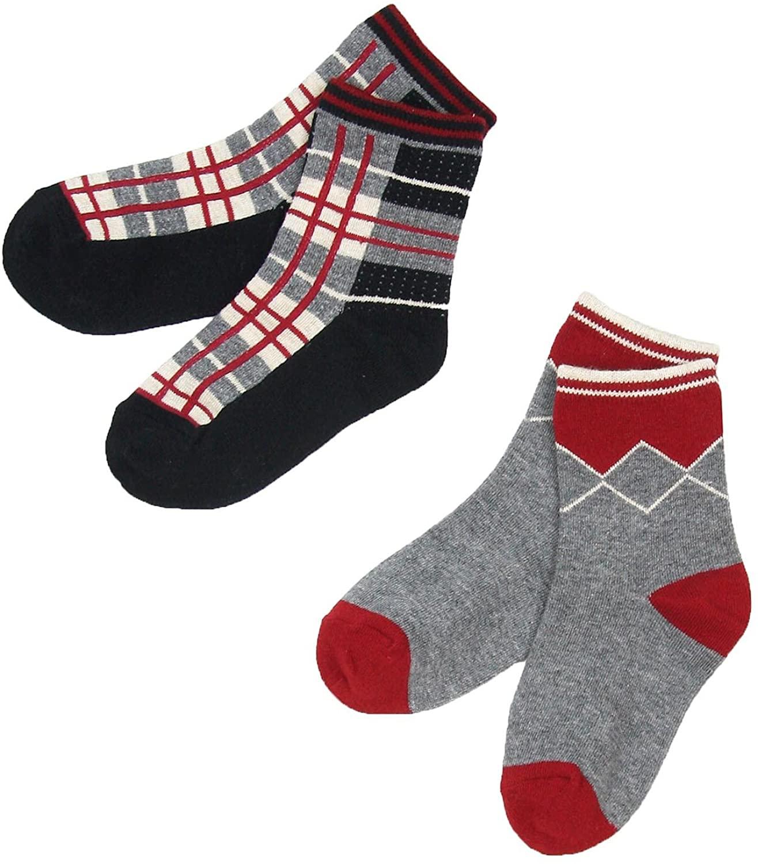 Deux par Deux Boys' Socks Under the Radar, Sizes 5-12