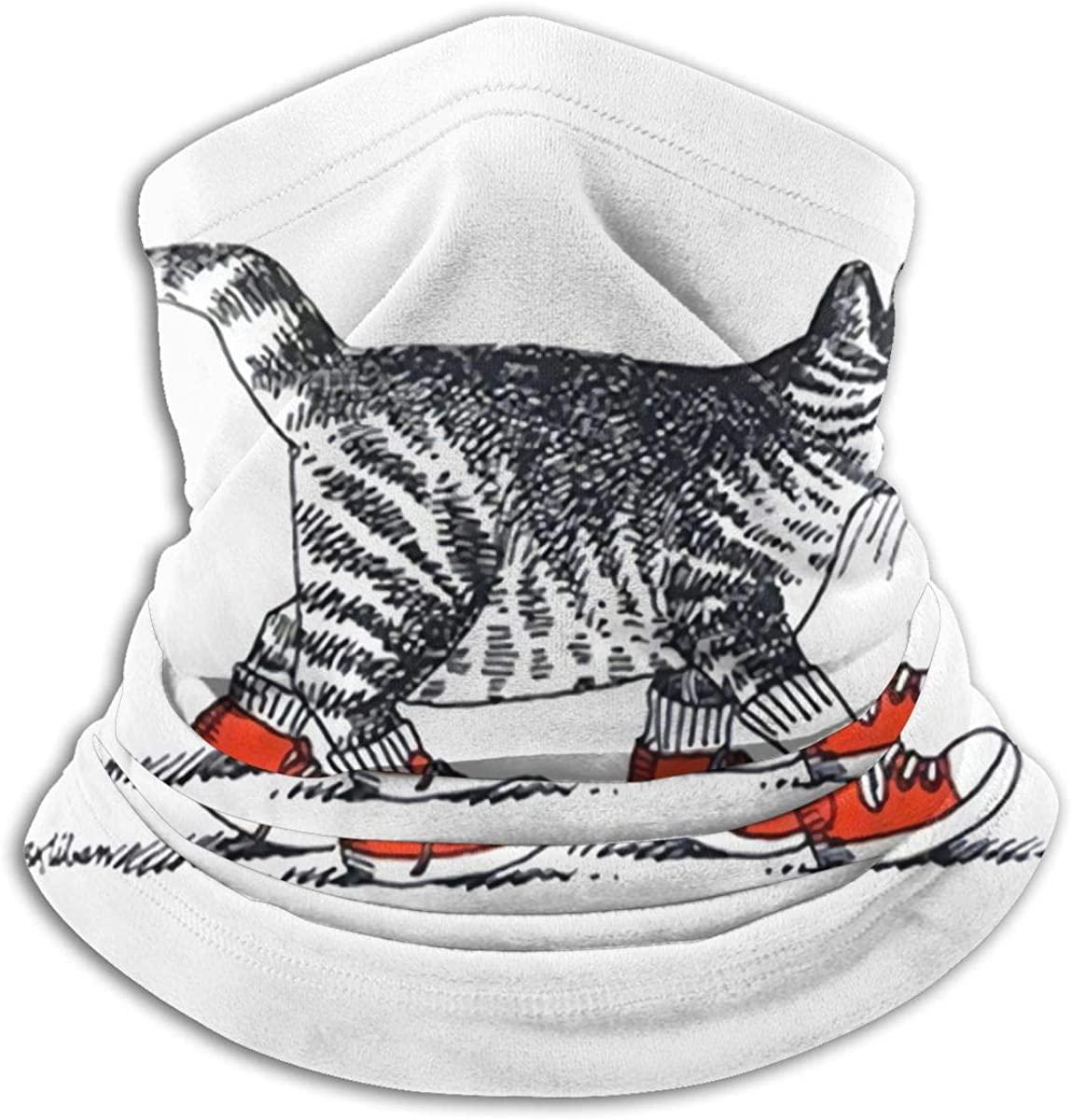 Kliban Cat Warm Comfortable Dustproof Sports Breathable Face Shield Seamless Bandana Scarf UV Sport Balaclavas