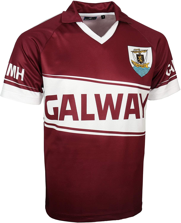 Galway Replica Gaelic Jersey (S) Burgandy