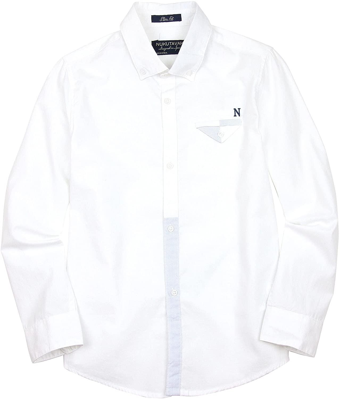 Mayoral Junior Boy's Long Sleeve Shirt White, Sizes 8-16