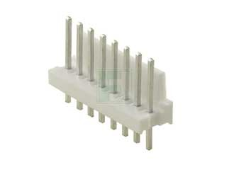 TE CONNECTIVITY 640454-8 MTA-100 8 Position 2.54 mm Single Row Through-Hole Straight Wire to Board Header - 100 item(s)