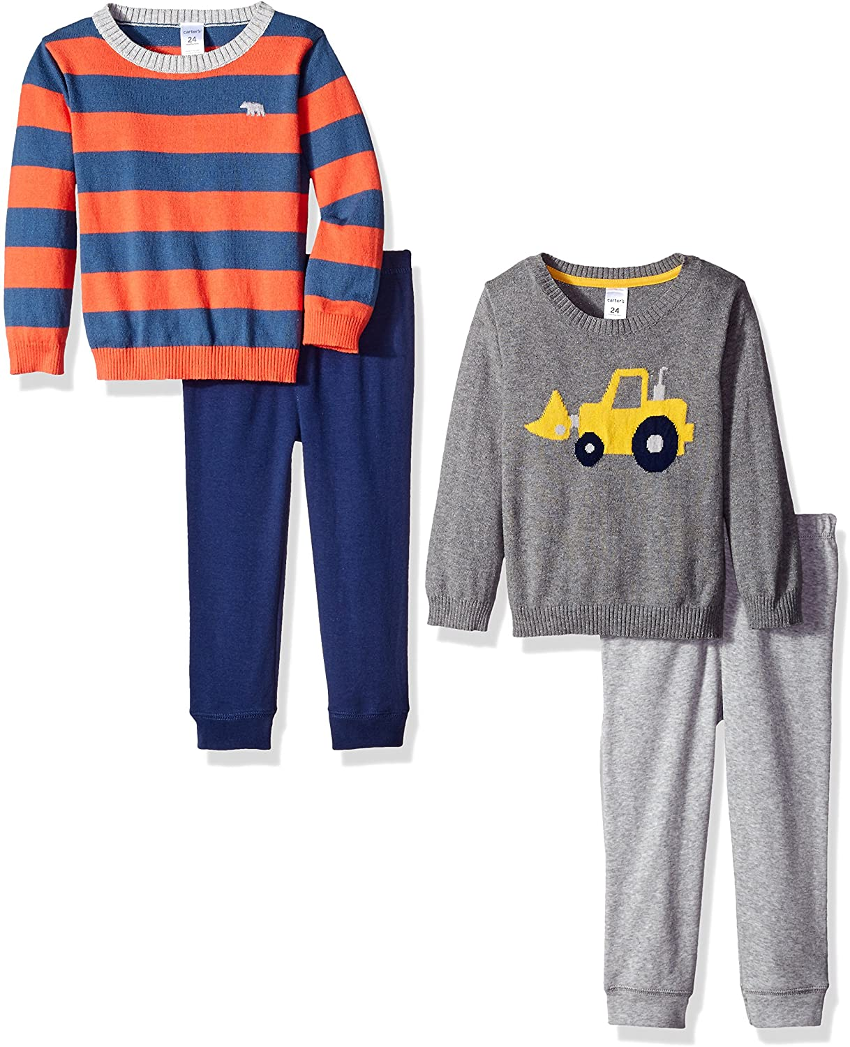 Carter's Boys' 4-Piece Sweater and Pant Set