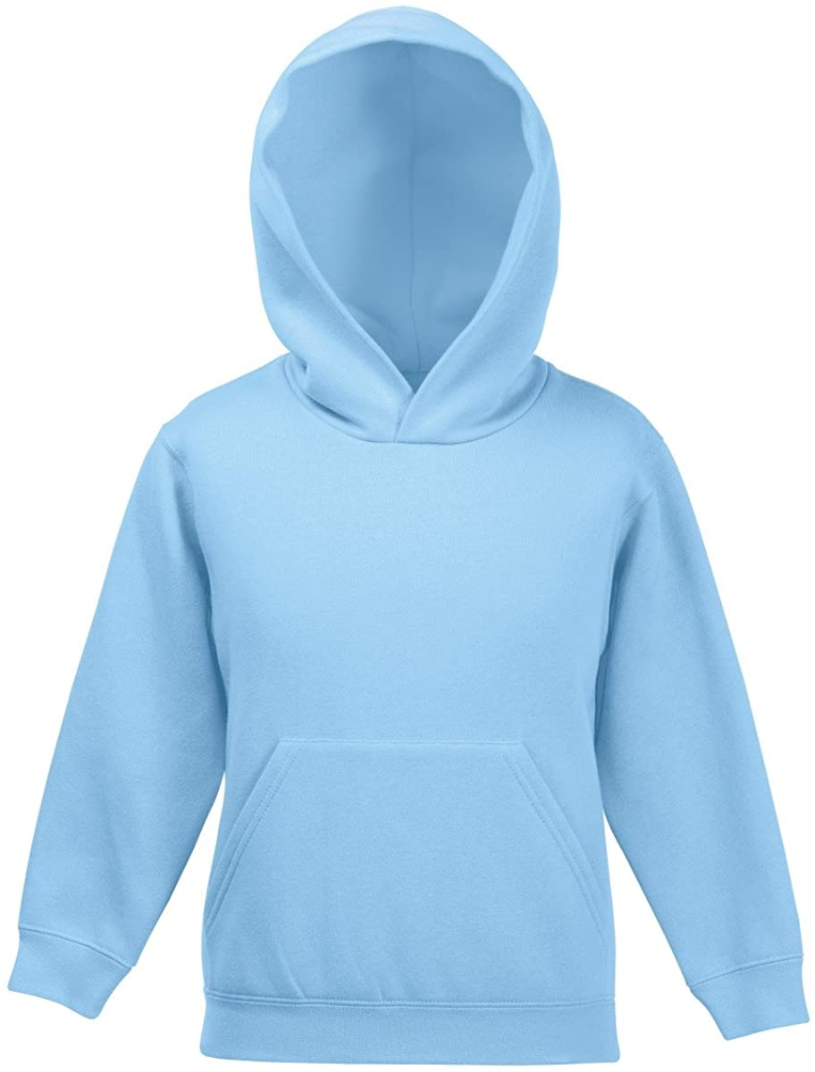 Fruit Of The Loom Childrens Unisex Hooded Sweatshirt / Hoodie