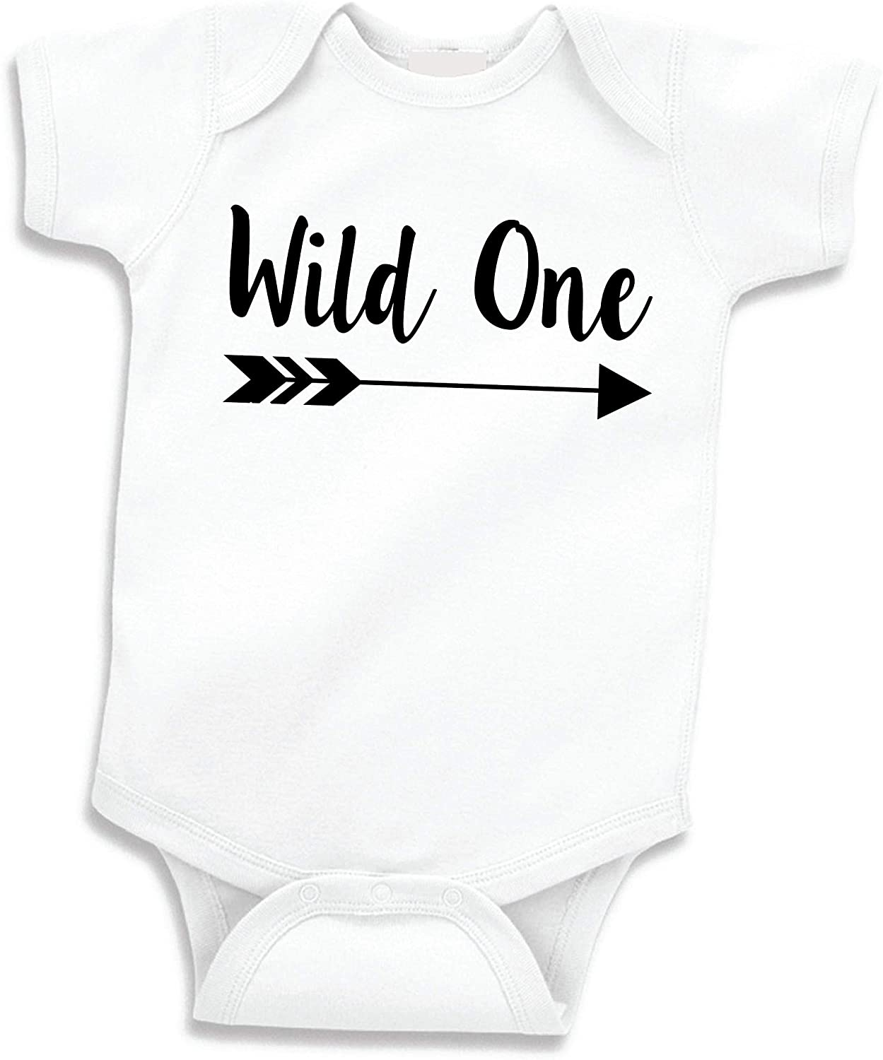 Baby Boy Birthday Shirt Wild One First Birthday Outfit