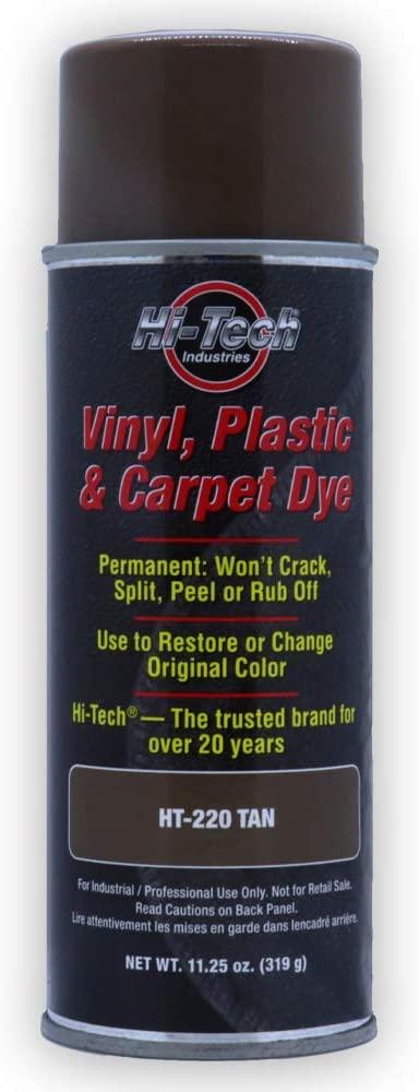 Hi-Tech Tan Vinyl Plastic & Carpet Aerosol Dye