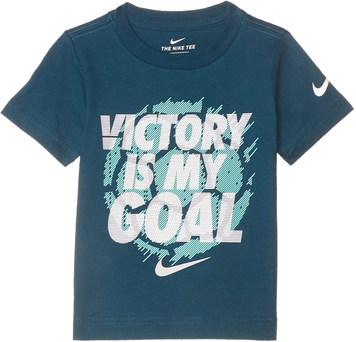 Nike Kids Baby Boy's Victory is My Goal Tee (Toddler)