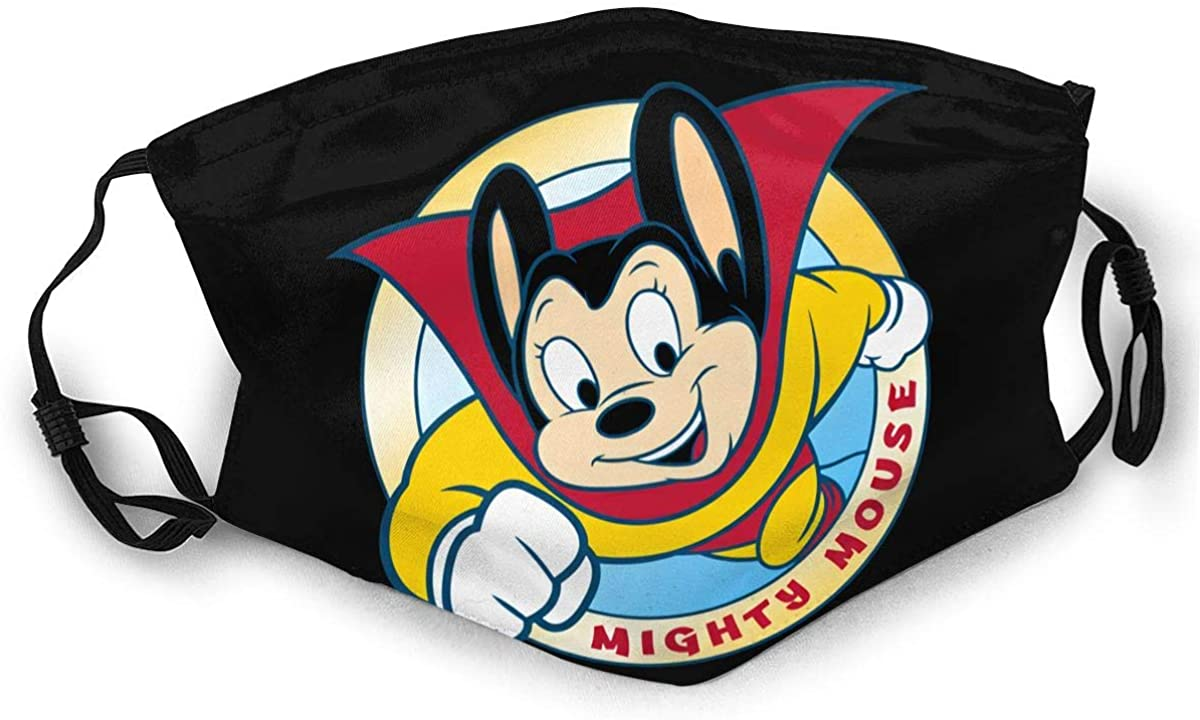 Mighty Mouse Adult Outdoor Sports Windproof Dustproof Face Towel Headscarf Scarf Sunscreen