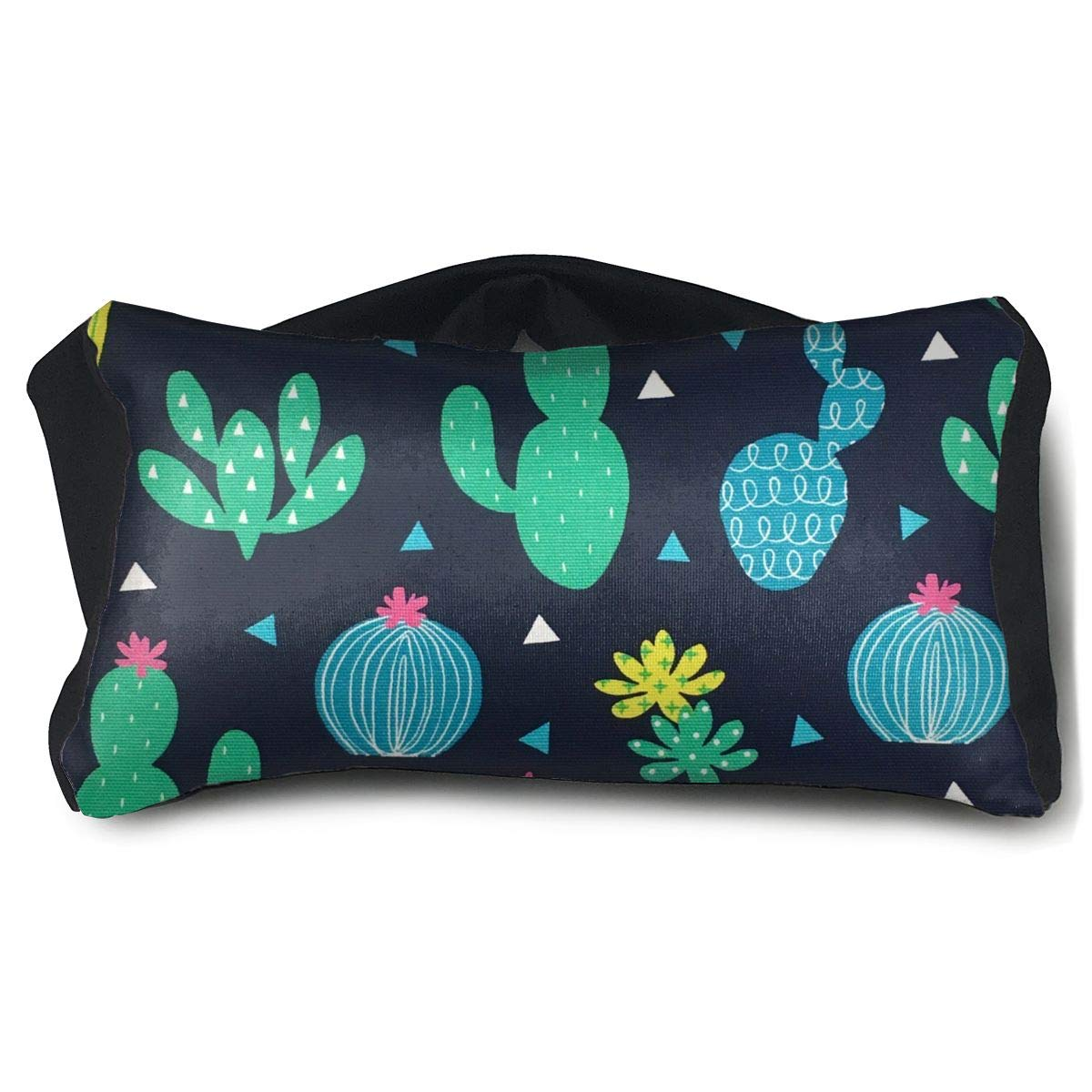Eye Pillow Perfect Cactus Custom Personalized Womens Portable Blindfold Sleeping Eye Bag Mask