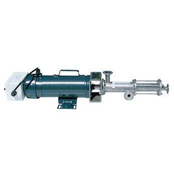 Seepex W02NA1F0BD1036 Progressing Cavity Pump, Iron/Nitrile, STD, 60 psi, 7.0 GPM; AC