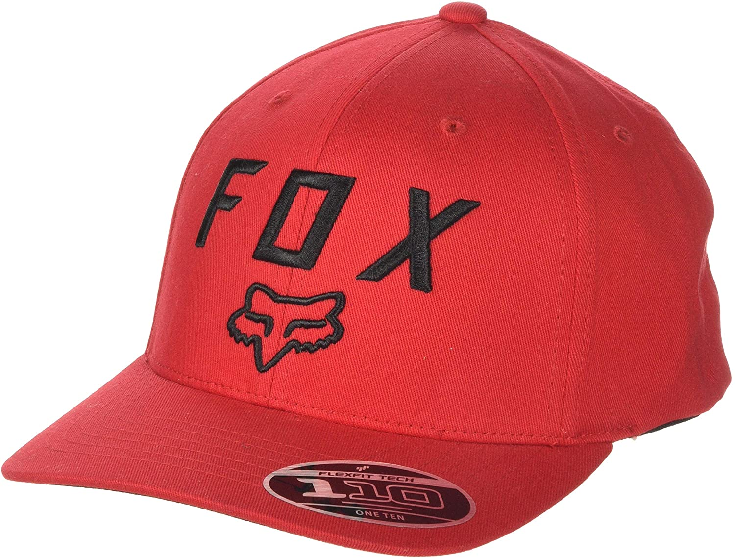 Fox Racing Legacy Moth 110 Snapback Hat-Dark Red