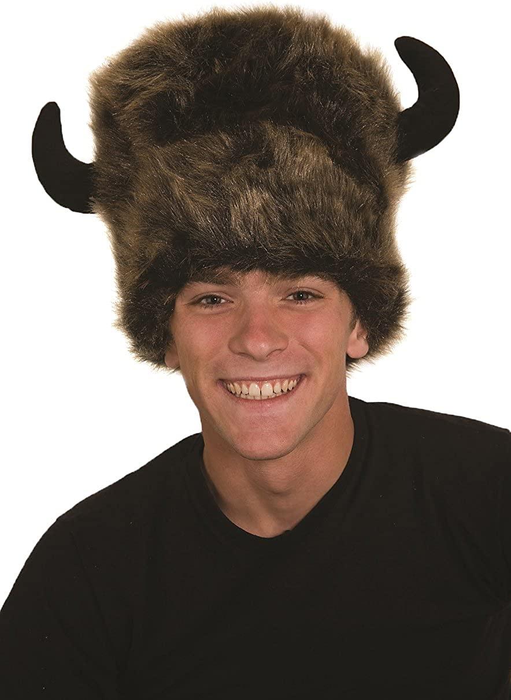Jacobson Hat Company Men's Furry Bison Hat