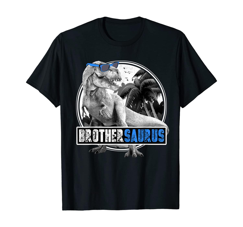 Brothersaurus Shirt T-Rex Brother Dinosaur T-Shirt