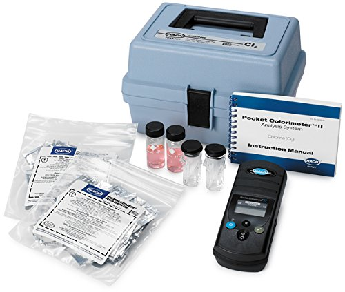 Hach 2513100 Pocket Colorimeter II, Fluoride (SPADNS II-Arsenic-Free)
