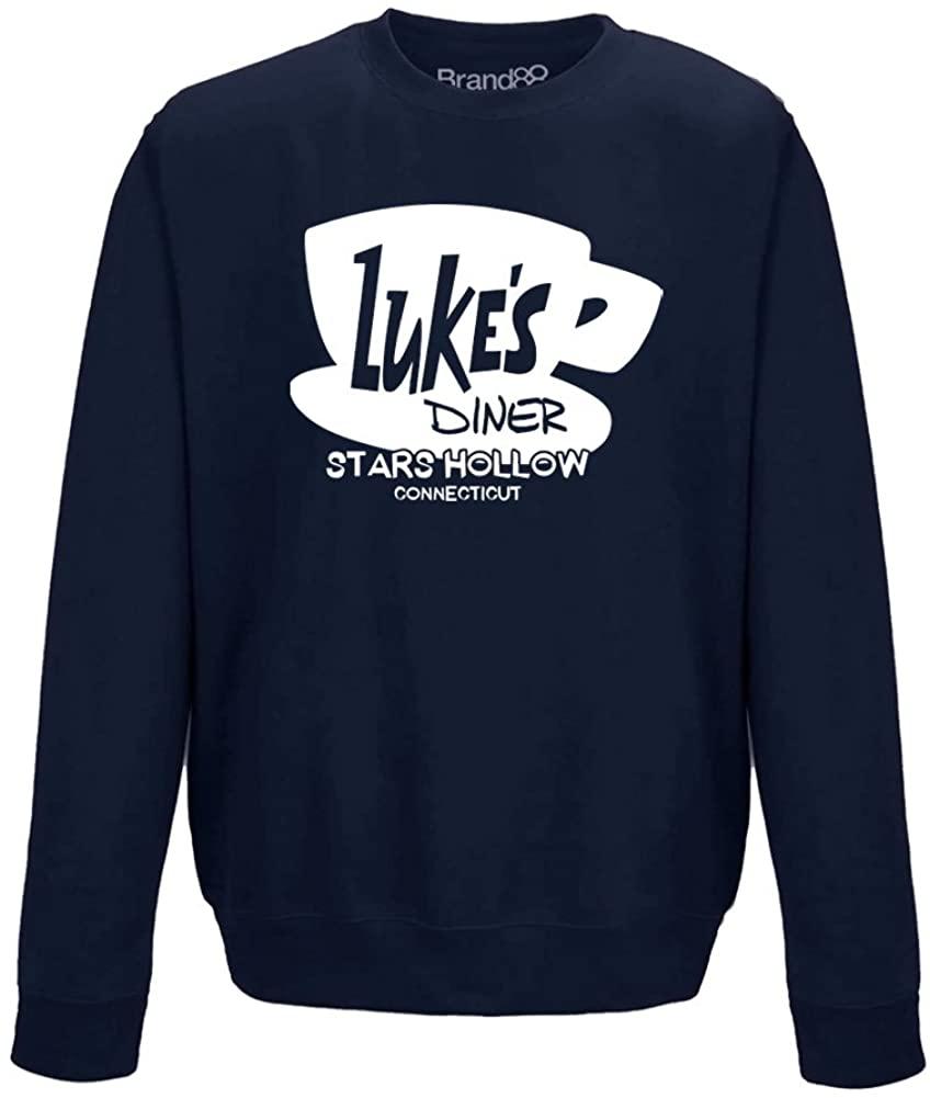 Brand88 - Luke's Diner, Adults Sweatshirt