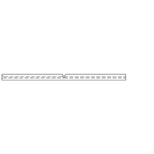 RESTEK 20741-214.5 Straight Inlet Liner for PerkinElmer GCs, Siltek, 1.0 mm ID, 4.0 mm OD, 86.2 mm Length, Borosilicate Glass (Pack of 5)