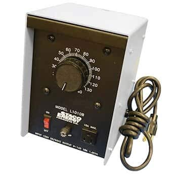 Cole-Parmer AO-01575-24 Staco L1010B Variable-Voltage Controller, 10 A; 120 V in, 0-140 V Out