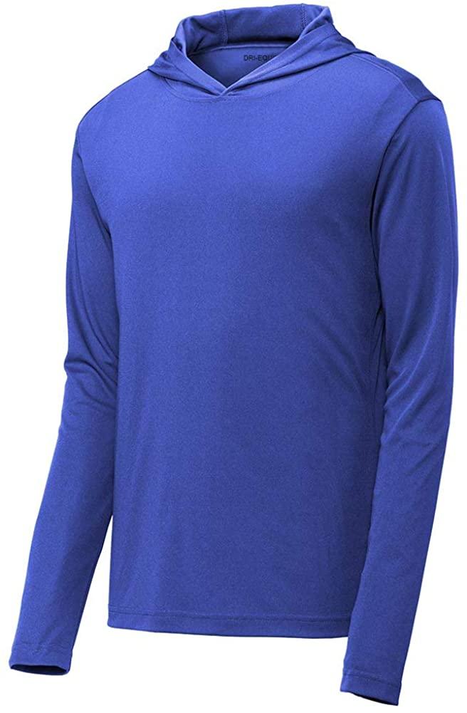 DRIEQUIP Moisture Wicking Hooded Long Sleeve Shirts Sizes XS-4XL