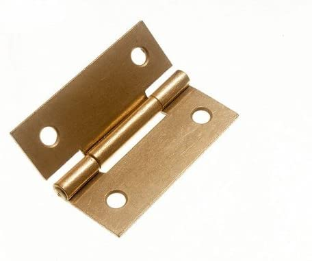 100 x PAIRS OF STEEL BUTT HINGES EB 50MM 2 INCH