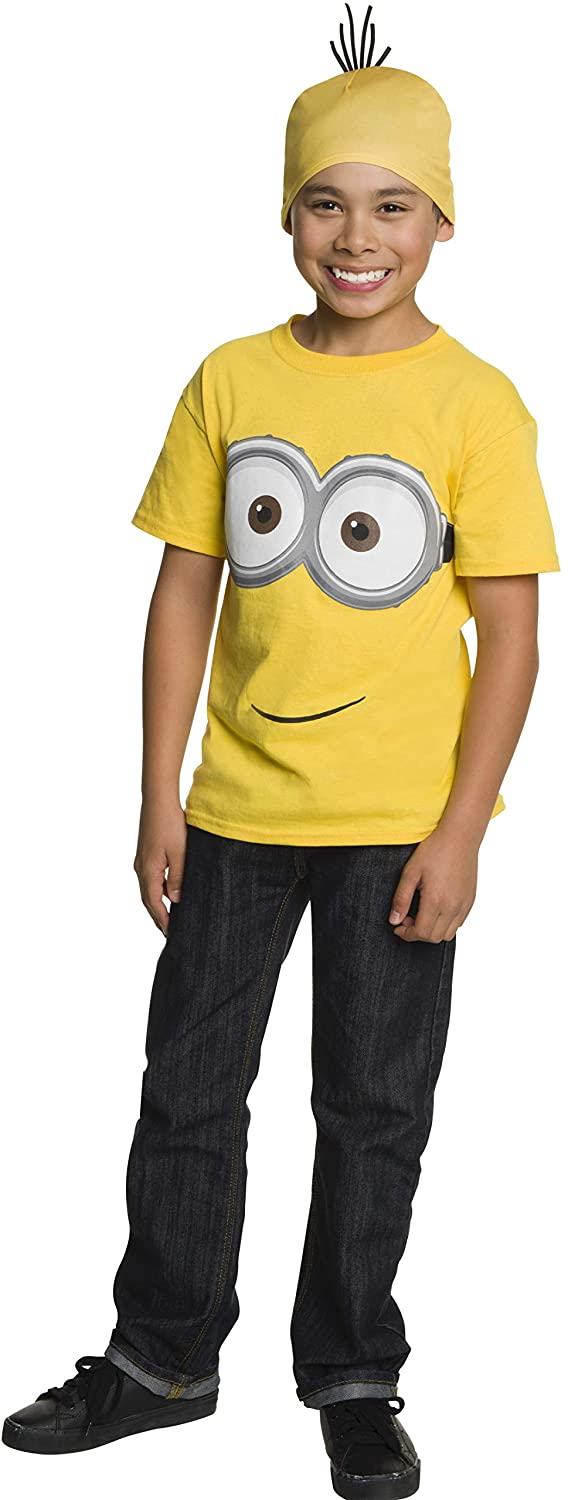 Rubie's Minion Child's Shirt and Head Piece, Medium