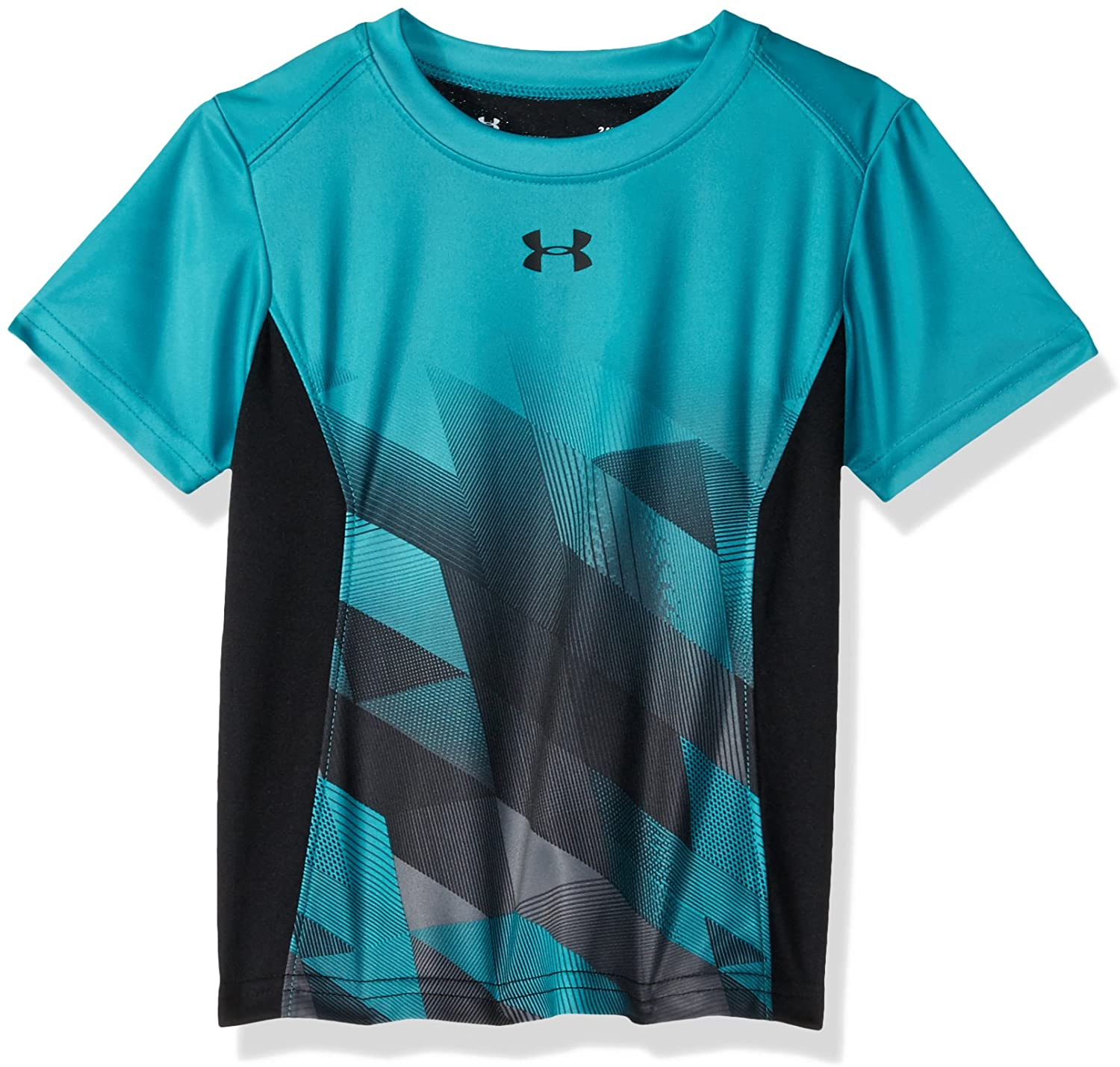 Under Armour Boys' Toddler Mesh Logo Tech Short Sleeve T-Shirt