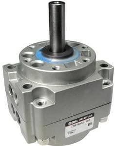 SMC CRB1BW50-180S-XN - SMC CRB1BW50-180S-XN Rotary Single Vane Pneumatic Rotary Actuator, Double Shaft, 50mm Body, Type: Rotary Single Vane
