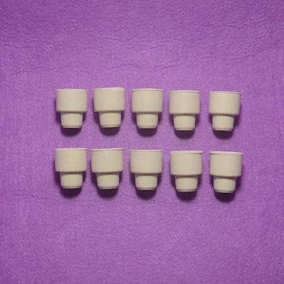 no logo 10PCS/Pack Laboratory Rubber Septa,Lab Rubber Stoppers