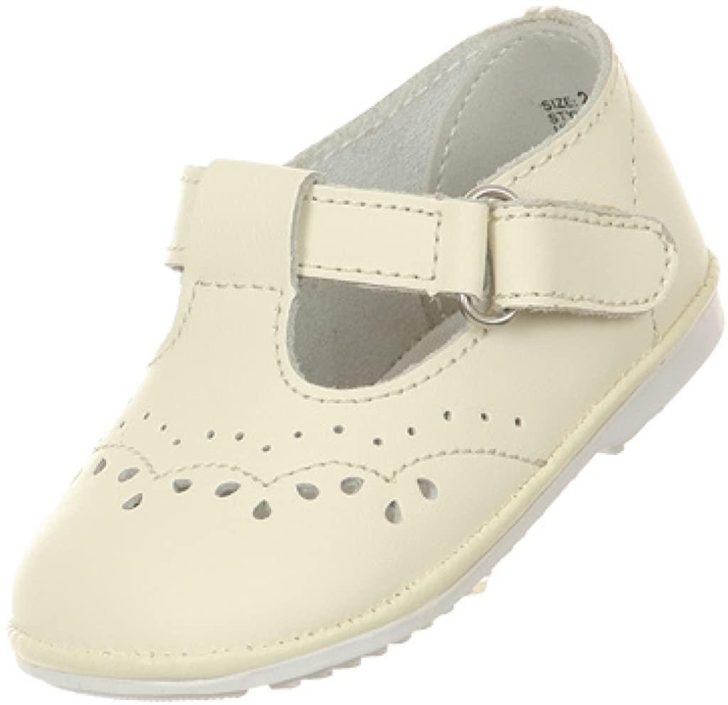 BNY Corner Baby Girls Angel T Strap Mary Jane Toddler Infant Dress Shoes