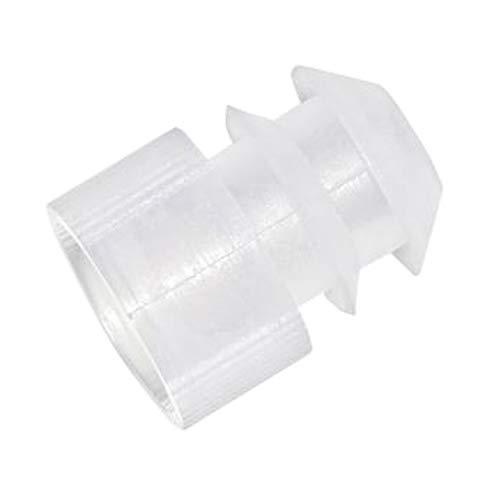 Kartell 1211Z97CS 276155-000Y Yellow Polyethylene Test Tube Stopper/Cap for 15-17 mm Test Tubes (Pack of 1000)
