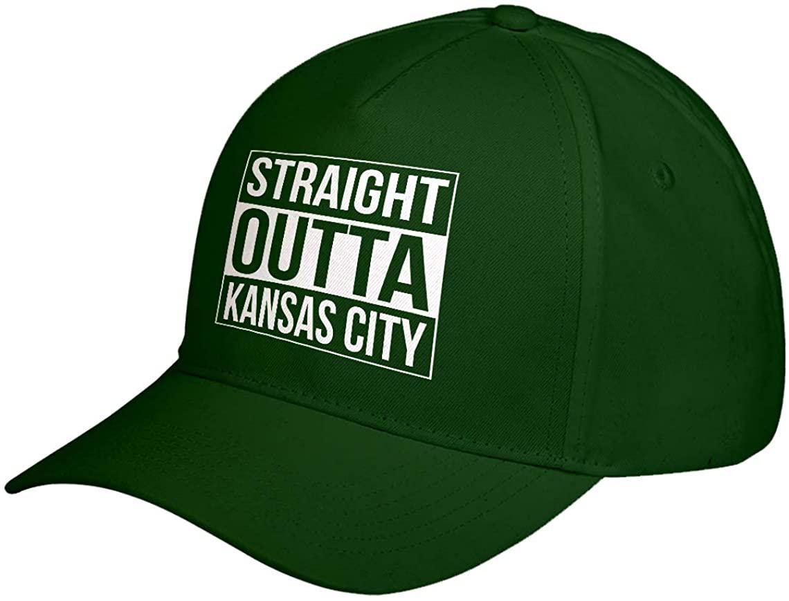 Hat Straight Outta Kansas City Adjustable Unisex Baseball Cap