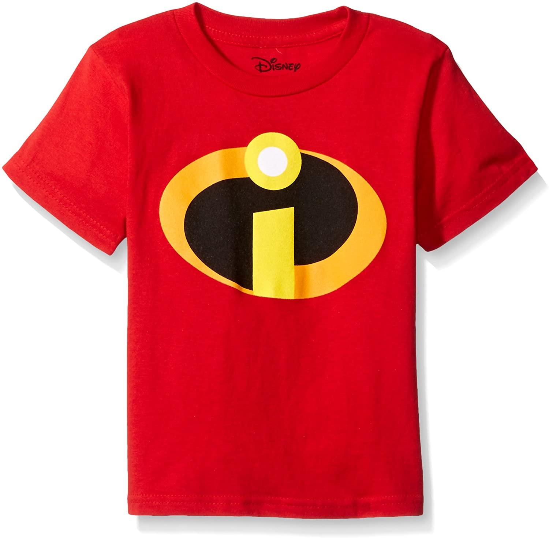 Disney Little Boys' the Incredibles Logo Costume T-Shirt