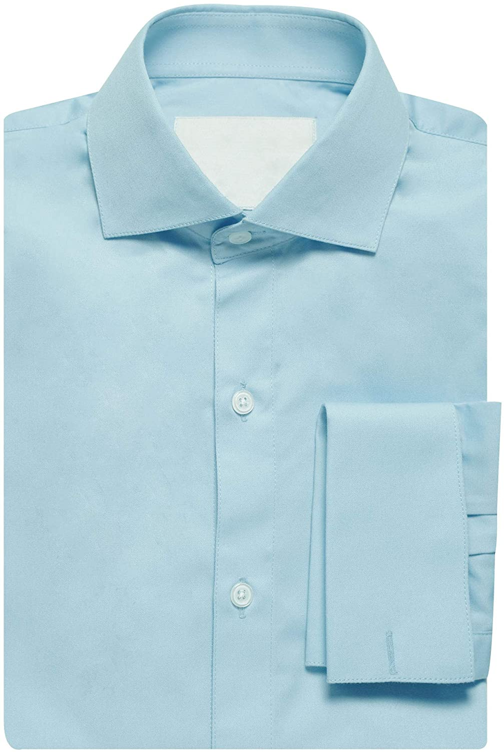 Mens Shirts Style no.15365 Light Blue All-Season Pinpoint